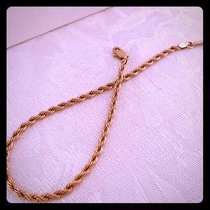 Real Solid 10K Gold Bracelet